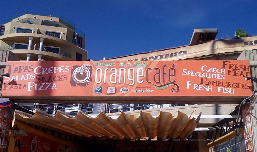 Orange Cafe Comida Checa en Tenerife